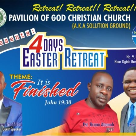 4 Days Easter Retreat