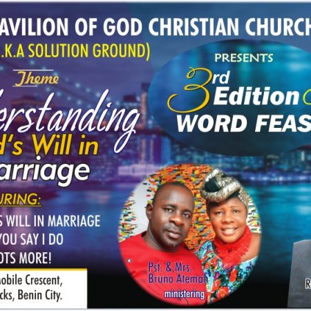 3rd Annual Word Feast - Understanding God's Will in Marriage